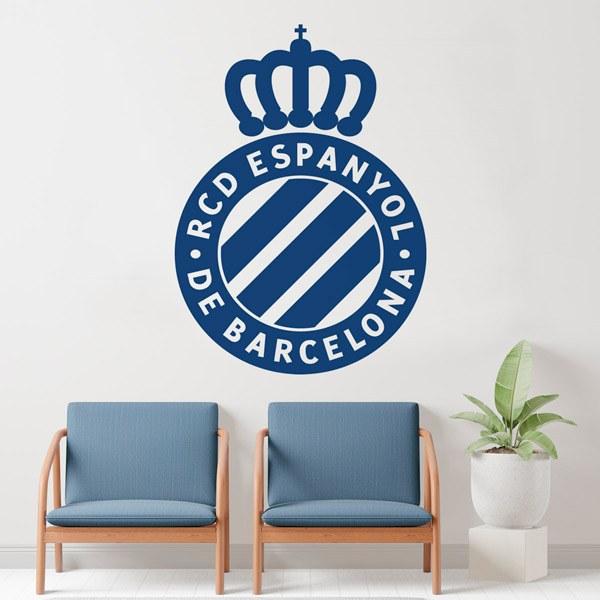 Vinilos Decorativos: Escudo Espanyol de Barcelona