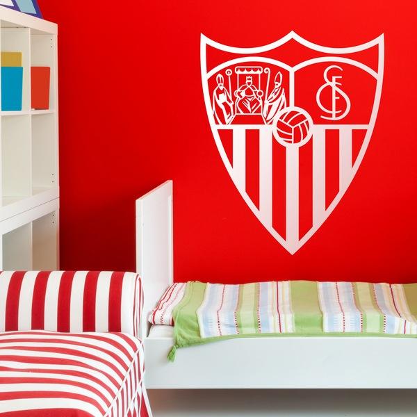 Vinilos Decorativos: Escudo del Sevilla Fútbol Club