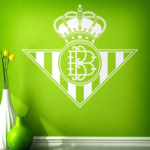 Vinilos Decorativos: Escudo del Real Betis Balompié