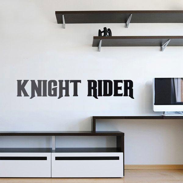 Vinilos Decorativos: Knight Rider - El coche fantástico