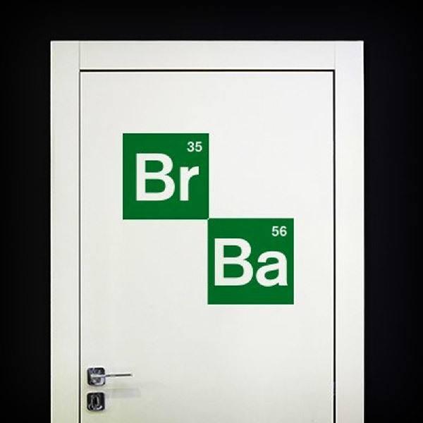 Vinilos Decorativos: Logo Breaking Bad 2
