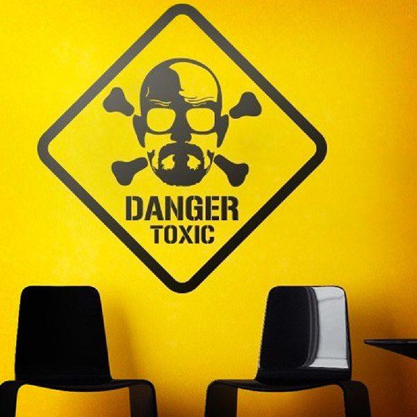 Vinilos Decorativos: Heisenberg Danger Toxic
