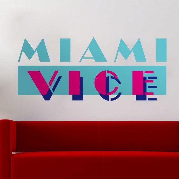 Vinilos Decorativos: Miami Vice