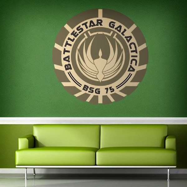 Vinilos Decorativos: Battlestar Galactica