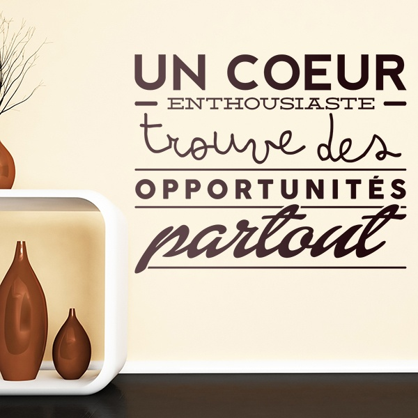 Vinilos Decorativos: Un coeur enthousiaste trouve des opportunités...