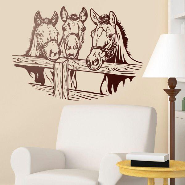 Vinilos Decorativos: 3 Caballos