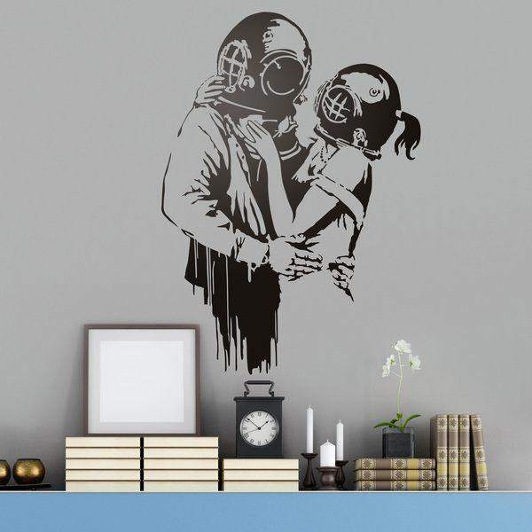 Vinilos Decorativos: Think Tank de Banksy