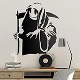 Vinilos Decorativos: Banksy Happy Grim Reaper