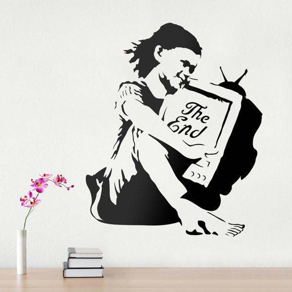 Vinilos Decorativos: Banksy The End