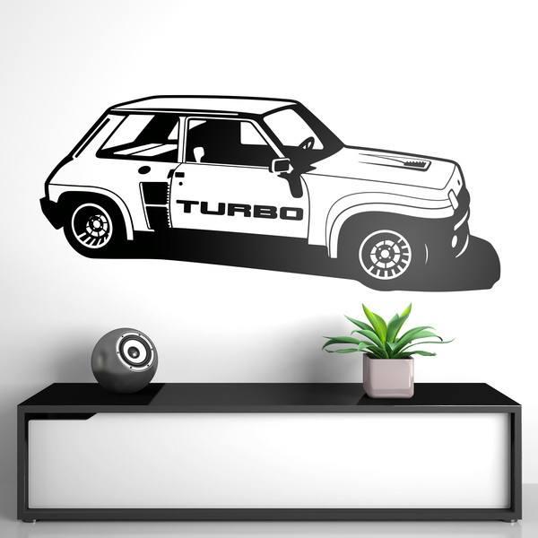 Vinilos Decorativos: Renault 5 Copa Turbo
