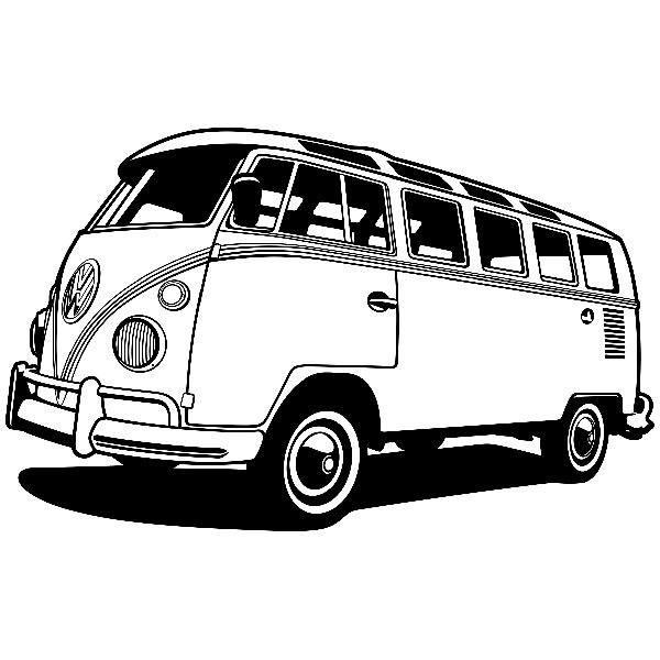 Vinilos Decorativos: Furgoneta Volkswagen California
