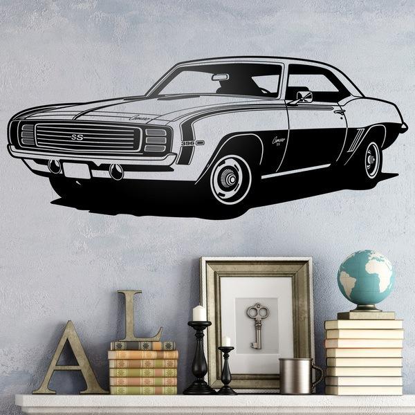 Vinilos Decorativos: Chevrolet Camaro 1969 ss