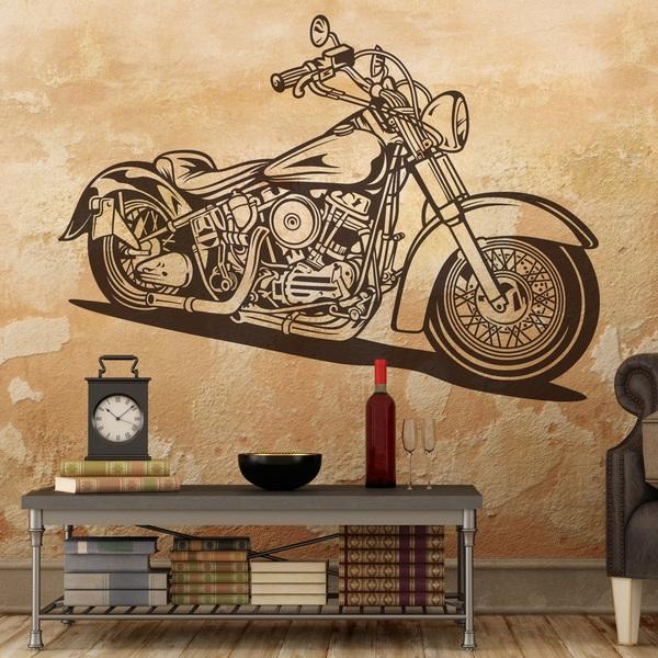 Vinilos Decorativos: Harley Davidson Softail Classic