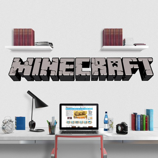 Vinilos Decorativos: Minecraft