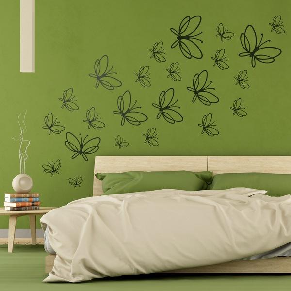 Vinilos Decorativos: Kit 23 Mariposas Noltea