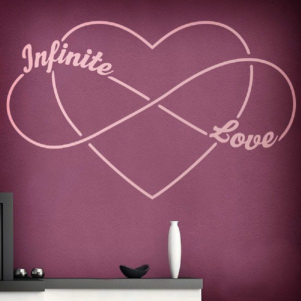 Vinilos Decorativos: Amor Infinito - Infinite love