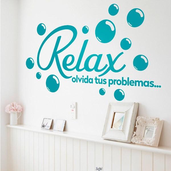 Vinilos Decorativos: Relax, olvida tus problemas