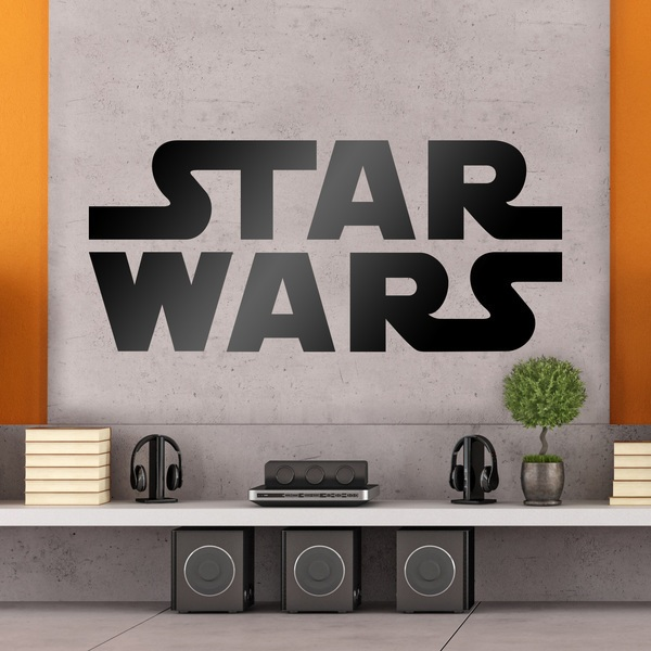 Vinilos Decorativos: Logo Star Wars