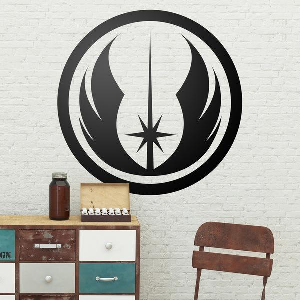 Vinilos Decorativos: Símbolo de la Orden Jedi