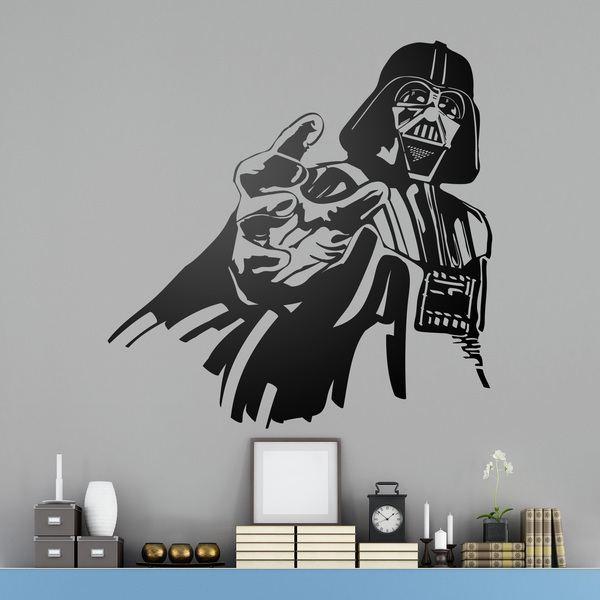 Vinilos Decorativos: Darth Vader 2