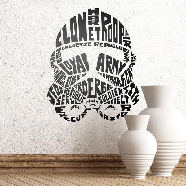 Vinilos Decorativos: Tipográfico Stormtrooper