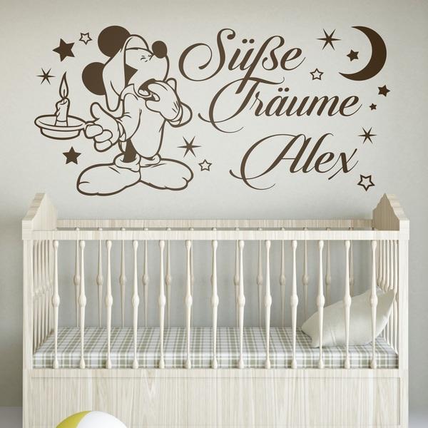 Vinilos Infantiles: Mickey Mouse Süße Träume