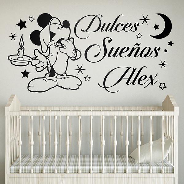 Vinilos Infantiles: Mickey Mouse Dulces Sueños