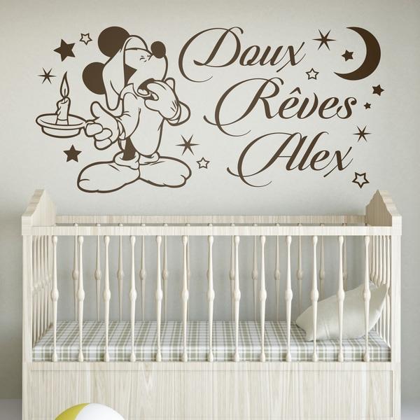 Vinilos Infantiles: Mickey Mouse Doux Rêves