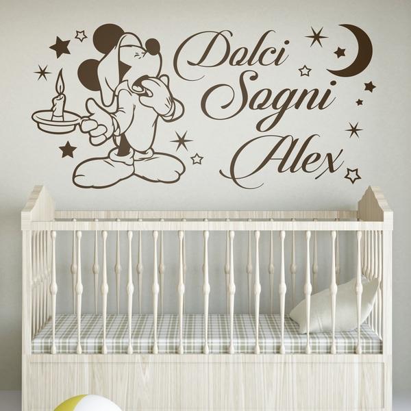 Vinilos Infantiles: Mickey Mouse Dolci Sogni