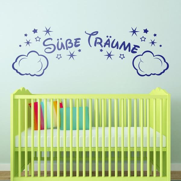 Vinilos Infantiles: Nubes y Estrellas Süße Träume