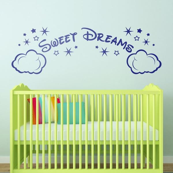 Vinilos Infantiles: Nubes y Estrellas Sweet Dreams
