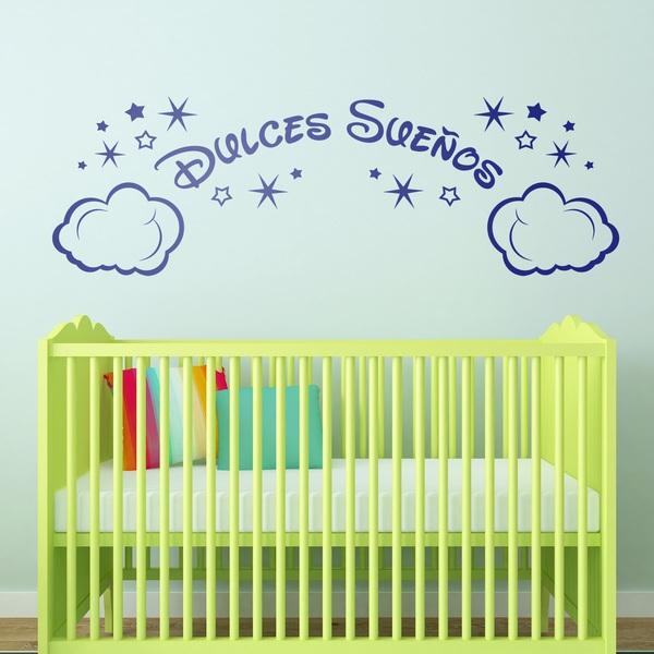 Vinilos Infantiles: Nubes y Estrellas Dulces Sueños