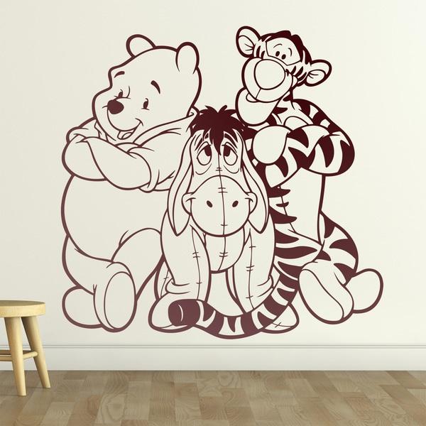 Vinilos Infantiles: Winnie the Pooh