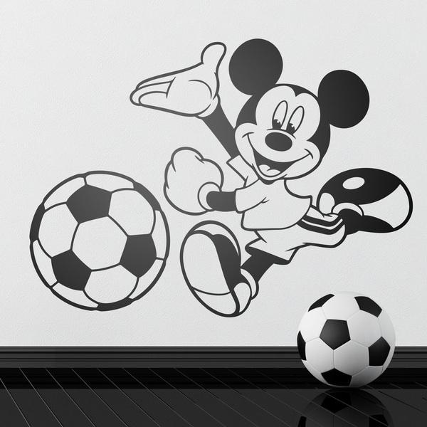Vinilos Infantiles: Mickey Mouse Fútbol 2
