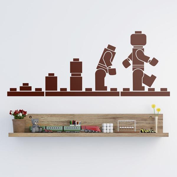Vinilos Infantiles: Evolución Figuras Lego