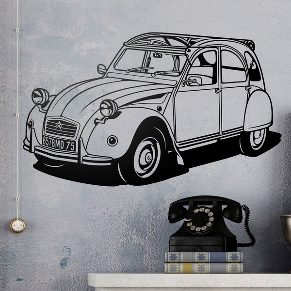 Vinilos Decorativos: Citroën 2CV