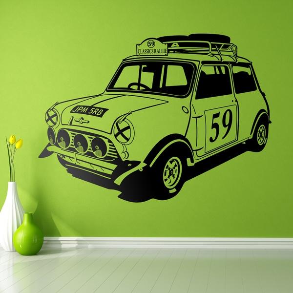 Vinilos Decorativos: Mini Rally años 60
