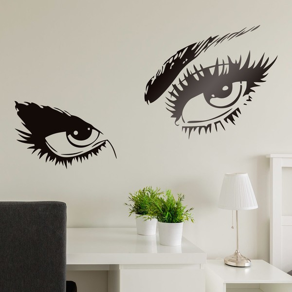 Vinilos Decorativos: Ojos femeninos