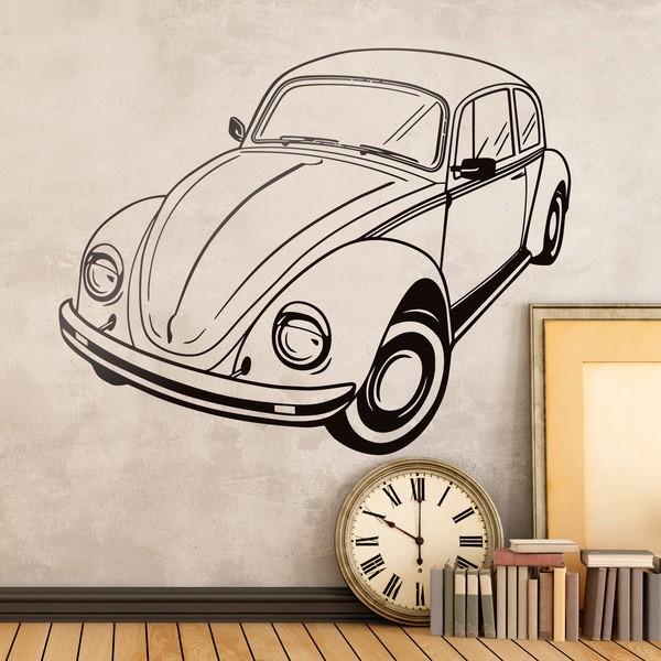 Vinilos Decorativos: Volkswagen escarabajo