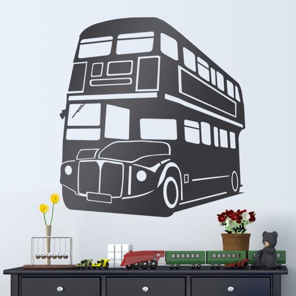 Vinilos Decorativos: Autobús londinense de 2 pisos