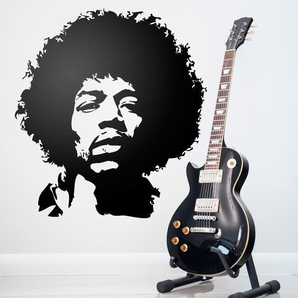 Vinilos Decorativos: Símbolo Jimi Hendrix