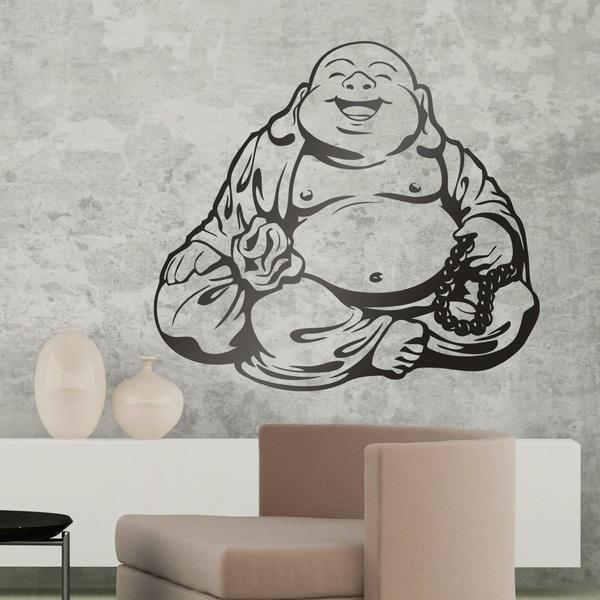 Vinilos Decorativos: Budha sonriente