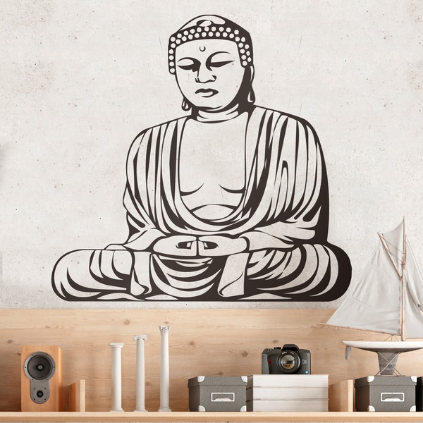 Vinilos Decorativos: Budha Sabio