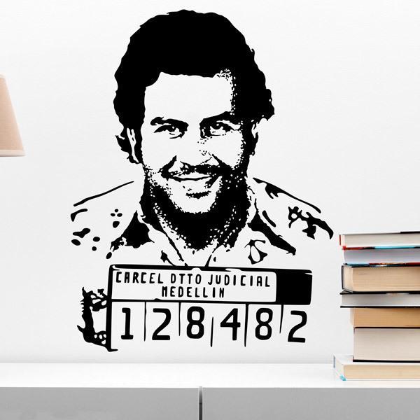 Vinilos Decorativos: Pablo Escobar