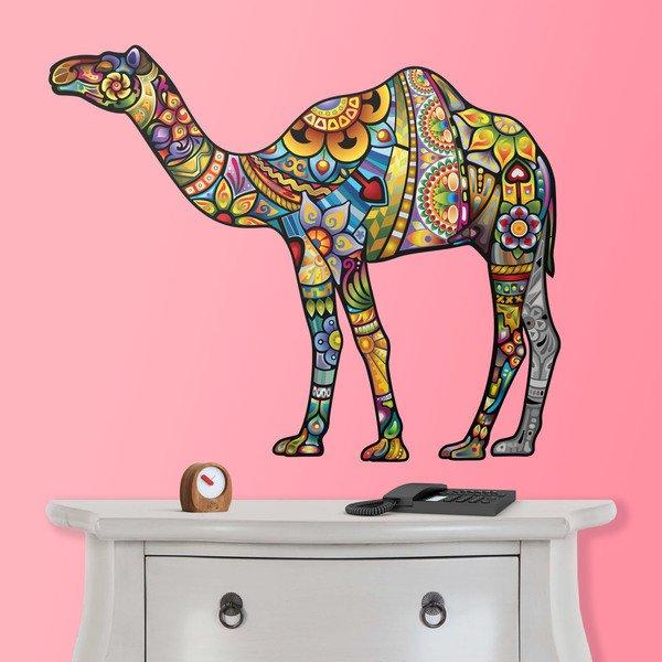 Vinilos Decorativos: Camello hindú