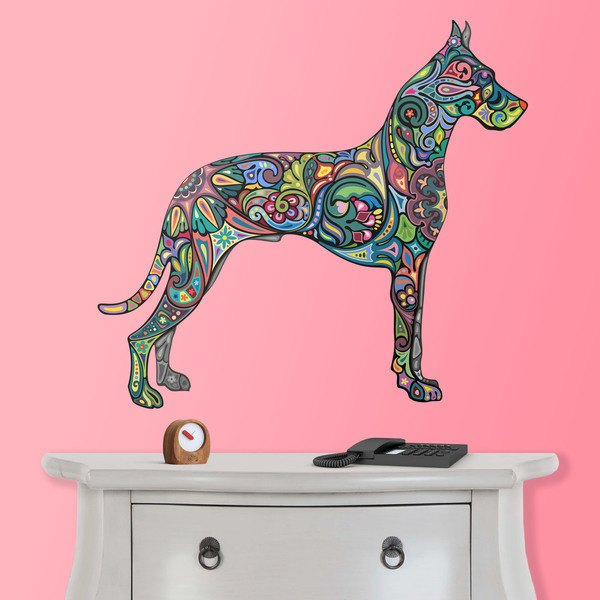 Vinilos Decorativos: Perro hindú