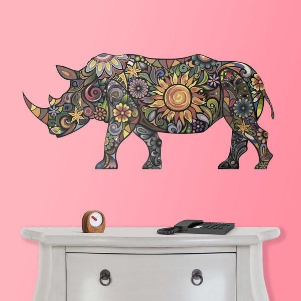 Vinilos Decorativos: Hipopótamo hindú