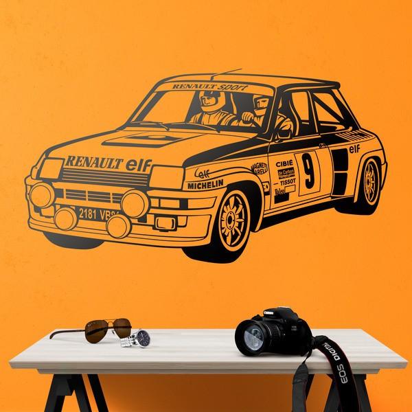 Vinilos Decorativos: Renault 5 Turbo Rallye