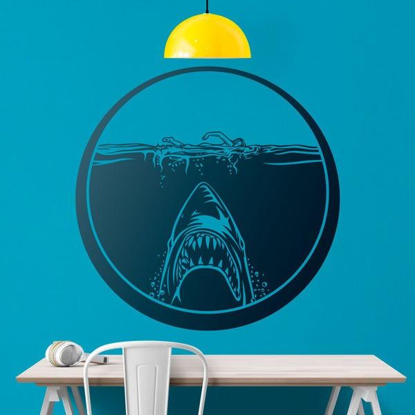 Vinilos Decorativos: Película Tiburón