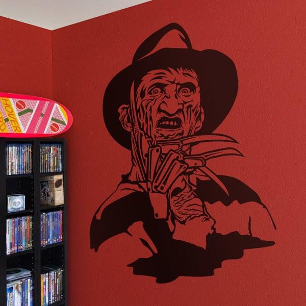 Vinilos Decorativos: Freddy Krueger